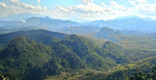 Moutain. Beautiful moutain view at Phukun Luang prabang royalty free stock photos