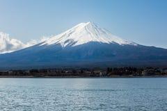 Moutain de Fuji do lago Kawaguchiko Imagens de Stock