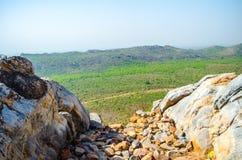 Moutain di Gridhakuta in Rajgir India Fotografie Stock