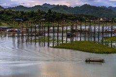 Moutain et ciel en Thaïlande Images libres de droits