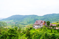 Moutain home Royalty Free Stock Images
