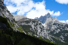 Moutain landscape in Val di Mello Royalty Free Stock Photos