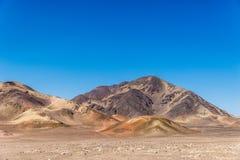 Moutain nel deserto Fotografia Stock Libera da Diritti