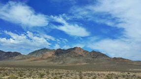 Moutain nevada usa. Moutain on the way to nevada usa Stock Image