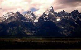 Moutain Peak, Grand Teton National Park, Jackson Hole, Wyoming, USA Stock Photos