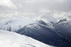 Moutain peaks. Stock Photo