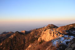 moutain Tai stockbilder