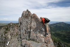 Moutaineer / hike / climb Stock Photos