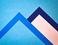 2 moutains бумаг Стоковое Изображение RF