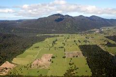 Moutains поля близрасположенные Стоковая Фотография RF