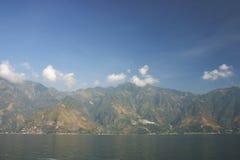 湖moutains 库存图片