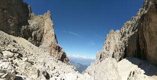 Moutains de dolomites photos libres de droits
