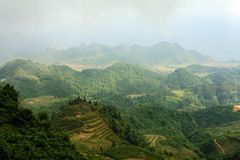 Moutains in Ha Giang stock photos