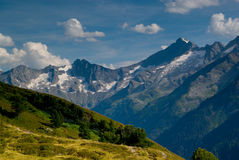 Moutains panorama Stock Photography