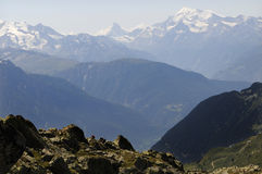 Moutains in Switzerland Royalty Free Stock Image