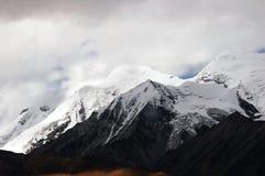 moutainsnow tibet royaltyfri foto