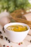 Moutarde épicée Photos stock