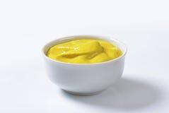 Moutarde lisse de Dijon photos stock