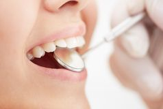 Mouth care Stock Images