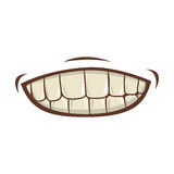 Mouth cartoon icon Stock Photography