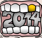 Mouth 2014 Stock Photography