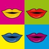 Mouth design Stock Photos