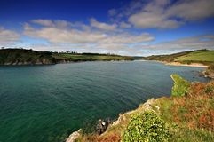 Mouth of the Erme estuary South Stock Photos
