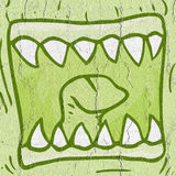 Mouth monster Royalty Free Stock Images