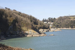 Mouth of the River Dart. Stock Images