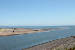 Mouth of River South Esk Montrose Scotland Royalty Free Stock Photography