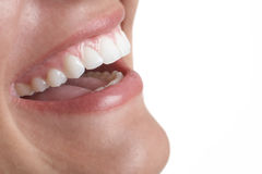 Mouth smile Stock Image