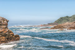 Mouth of the Storms River Stock Images