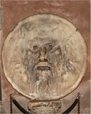 Mouth of Truth: Bocca della verità Stock Images