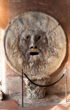 Mouth of truth Bocca della Verita. The Mouth of Truth in Rome, Italy - Bocca della Verita - lie detector according to the legend stock photos
