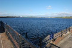 The Mouth of the Tyne Royalty Free Stock Photos