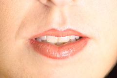 Mouth upclose Royalty Free Stock Photo