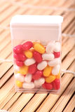 Mouth-watering sugar candies Stock Images