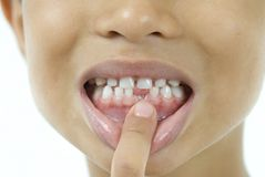 Mouth window Royalty Free Stock Photo