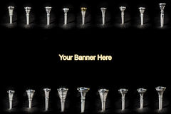 Mouthpiece Banner Stock Photos