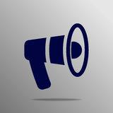 Mouthpiece Icon Royalty Free Stock Image