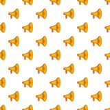 Mouthpiece pattern, cartoon style. Mouthpiece pattern. Cartoon illustration of mouthpiece vector pattern for web Stock Photos