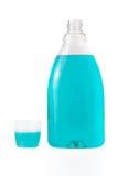 Mouthwash bottle Stock Photos