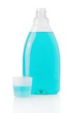 Mouthwash bottle Royalty Free Stock Images