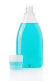Mouthwash bottle royalty free stock images