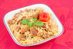 Mouton Biryani Photo stock