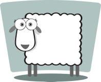 Moutons de dessin animé Images stock