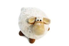 Moutons de jouet Photographie stock libre de droits