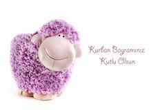 Moutons de jouet Photos libres de droits