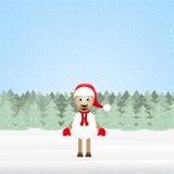 Moutons de Noël Photographie stock libre de droits