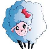 Moutons de sourire illustration stock